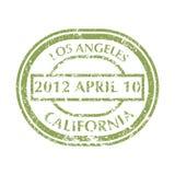 Selo postal de Los Angeles Imagens de Stock Royalty Free