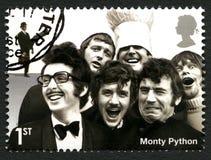 Selo postal de Monty Python Reino Unido Imagens de Stock
