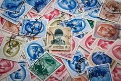 Selo postal de Tailândia imagens de stock