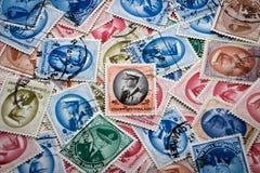 Selo postal de Tailândia fotografia de stock royalty free