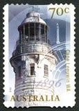 Selo postal do australiano de Leeuwin do cabo Imagens de Stock