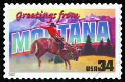 Selo postal dos E.U. imagem de stock