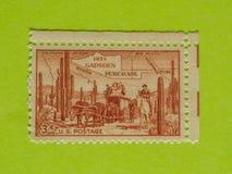 Selo postal dos EUA do vintage fotos de stock royalty free