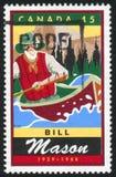 selo postal impresso por Canadá Imagem de Stock Royalty Free