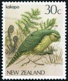 Selo postal - Nova Zelândia imagens de stock