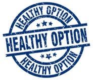 Selo saudável da opção ilustração do vetor