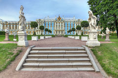selo ST της Πετρούπολης Ρωσία παλατιών της Catherine tsarskoe Στοκ φωτογραφία με δικαίωμα ελεύθερης χρήσης