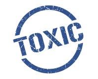 Selo tóxico ilustração stock