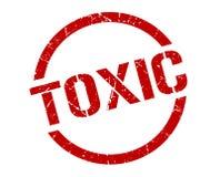 Selo tóxico ilustração royalty free