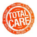 Selo total do cuidado ilustração stock