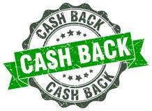 selo traseiro do dinheiro selo ilustração stock