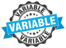 selo variável selo ilustração do vetor
