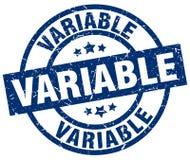 Selo variável ilustração stock