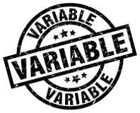 Selo variável ilustração do vetor