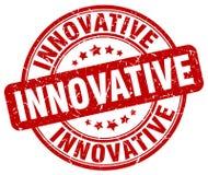 selo vermelho inovativo ilustração do vetor