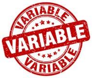 selo vermelho variável ilustração stock