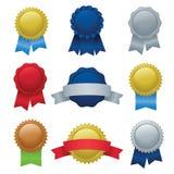 Selos & emblemas Imagens de Stock