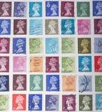Selos britânicos Fotos de Stock