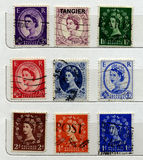 Selos BRITÂNICOS Fotografia de Stock