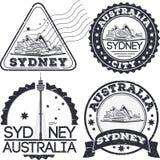 Selos da cidade de Sydney Imagens de Stock Royalty Free