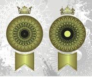 Selos da coroa Foto de Stock