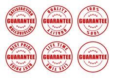 Selos da garantia Fotografia de Stock