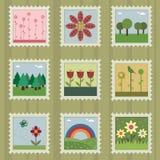 Selos da natureza Imagem de Stock