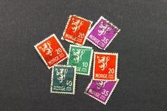 Selos de Noruega Imagem de Stock Royalty Free