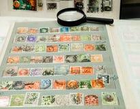 Selos de porte postal Fotografia de Stock Royalty Free
