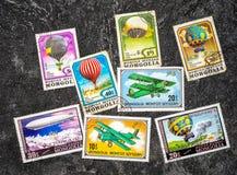 Selos de porte postal fotos de stock royalty free