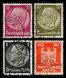 Selos de porte postal alemães Fotos de Stock Royalty Free