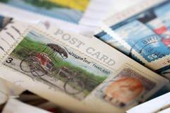 Selos de porte postal de Tailândia Imagem de Stock Royalty Free