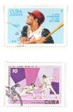 Selos de porte postal do vintage Imagem de Stock