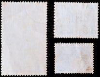 Selos de porte postal em branco Imagens de Stock Royalty Free
