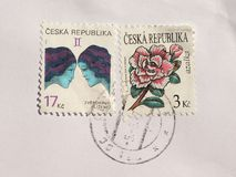 Selos de República Checa Fotos de Stock