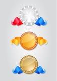 Selos diferentes Imagens de Stock