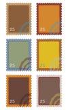 Selos do borne ilustração stock