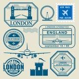Selos do curso ajustados Imagens de Stock