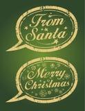 Selos do Natal. Imagem de Stock
