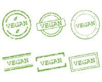 Selos do vegetariano ilustração royalty free