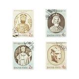 Selos do vintage do Magyar Fotografia de Stock