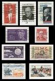 Selos dos anos 60 dos EUA Fotos de Stock Royalty Free