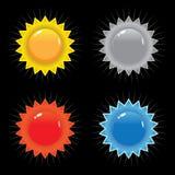 Selos e vetor dos emblemas Fotografia de Stock Royalty Free