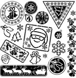 Selos postais Foto de Stock Royalty Free