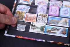 Selos postais Imagem de Stock Royalty Free