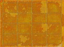 Selos postais dourados da textura Imagens de Stock Royalty Free