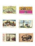 Selos: Selos do vintage dos E.U. Fotografia de Stock