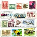 Selos velhos nortes de Europa Fotos de Stock