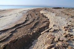 Sels de mer morte Photos libres de droits