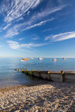 Selsey Bill West Sussex. The shingle beach at Selsey Bill West Susses England UK Stock Photos